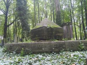A cemetery in Prenzlauer Berg, Berlin.