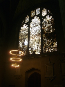 The chapel at Magdelen College, Oxford, where Oscar Wilde studied.