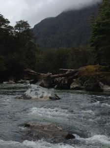 river rushing