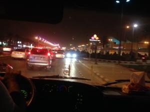 mall traffic